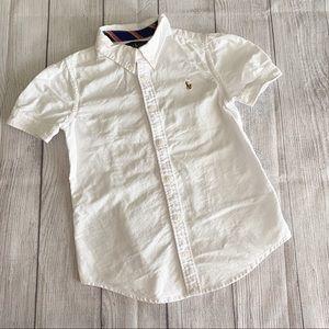 Ralph Lauren white top